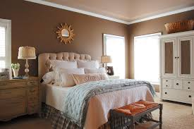 Innovative Crown Stencil In Bedroom Farmhouse With Decorative
