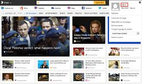 Wel e to the MSN home page