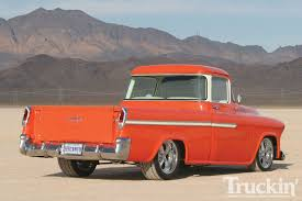 100 Tucker Truck Parts 1955 Chevy Cameo Orange Crush Classic Chevy S In