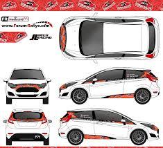 deco voiture de rallye 3ème concours déco officiel fr fordfiestar2 ciamin saison2016