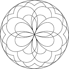 Mandala Coloring Pages For Kids With 7 64