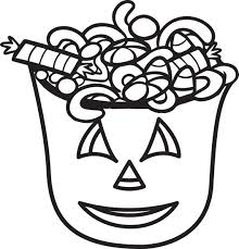 Halloween Coloring Pages Candy Corn Free Printable Page For Kids