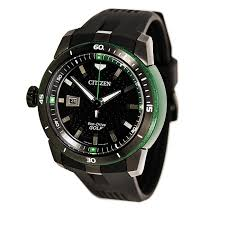 99 Eco Golf Citizen Mens DRV Titanium Green Watch
