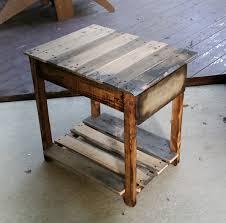 pallet wood end table u2014 got wood workshop