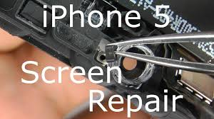 iPhone 5 Screen Replacement & Home Button Repair Touch Screen