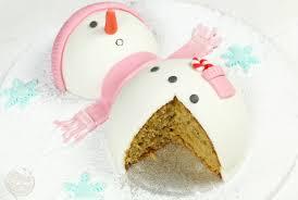 le gâteau bonhomme de neige féerie cake