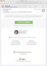 Text Decoration Underline Style by Creating Html Meeting Invitations U2013 Vidyocloud Support
