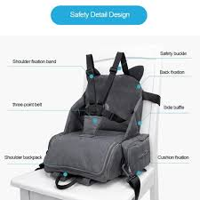Portable High Chair Seat And Diaper Bag Combo - PurpliKi The Best High Chair Chairs To Make Mealtime A Breeze Pod Portable Mountain Buggy Ciao Baby Walmart Canada Styles Trend Design Folding For Feeding Adjustable Seat Booster For Sale Online Deals Prices Swings 8 Hook On Of 2018 15 2019 Skep Straponchair Blue R Rabbit Little Muffin Grand Top 10 Heavycom
