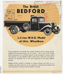 100 General Truck Sales Bedford WHG Truck Sales Leaflet Manuscript State Library Of