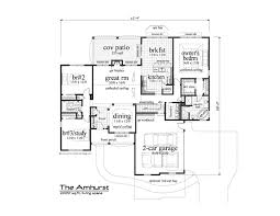 Photo Of Floor Plan For 2000 Sq Ft House Ideas by 2000 Sq Ft House Plan Amhurst 20 001 380 From Planhouse