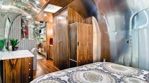 100 Restored Airstreams Vintage Airstream That Once Rode The Rails Sells For 200