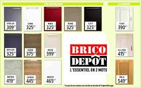 prix cuisines brico depot cuisine catalogue amazing cuisine leroy