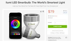 deal ending soon ilumi led smartbulb for 79 droid