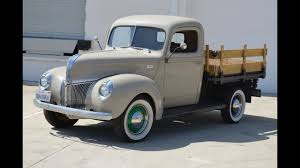 SOLD: 1941 Ford Flatbed CA - YouTube