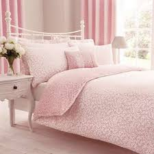 Annie Pink Reversible Duvet Cover and Pillowcase Set