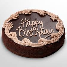 Image Chocolate Birthday Cake Wallpaper