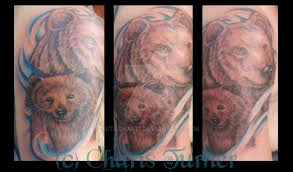 Bear Tattoo By Metacharis