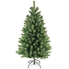 Artificial Christmas Trees Unlit Canada by Unlit Christmas Trees Artificial Christmas Trees The Home Depot