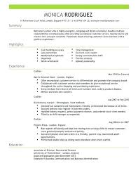 Resume Cashier Examples By Clicking Build Your Own You Agree To Our Terms Of Use And