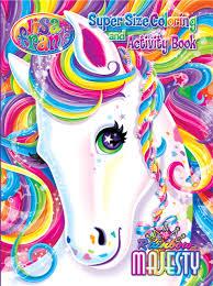 Lisa Frank Super Size Coloring And Activity Book Rainbow Majesty Modern Publishing 9781559934350 Amazon Books