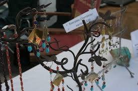 1225 Christmas Tree Lane by Hannah Jewelry Tree Stand
