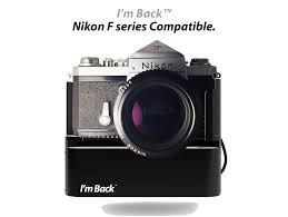 I m Back – Digital back for analog cameras