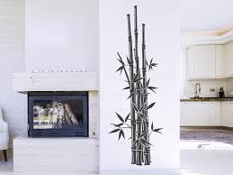 wandtattoo gerader bambus asiatische deko wandtattoo de