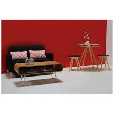 mini canapé mini canapé 2 places au esign scandinave pieds en bois noir