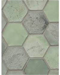 tidal wave recycled hexagon glass mosaic tile tile stores glass