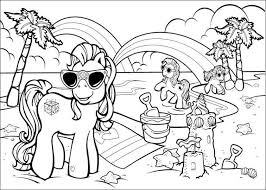 Printable 37 Beach Coloring Pages 811