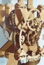 woodwork wooden clock kit pdf plans