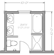 Small Bathroom Floor Plans With Shower Cool Design Narrow Bathroom