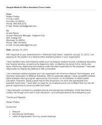 Cover Letter For Medical Receptionist Job Uk Samples Resume Field