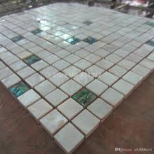 2018 of pearl tiles green white shell tile mixed kitchen