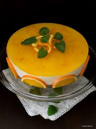 orangen vanille cheesecake mit einem hauch muskat die