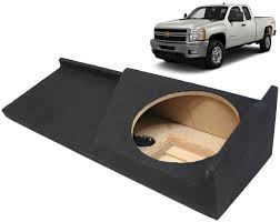 100 Truck Subwoofer Box 20072013 Chevy Silverado 2500Hd Ext Cab Single 10 Sub