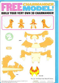 Pokemon Papercraft Templates
