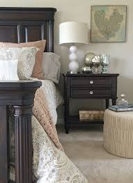 Looking To Lighten Up Your Dark Bedroom Furniture Try Adding New Paisley Bedding In Soft