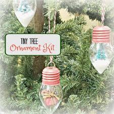Mini Tree Ornament Kit Huckleberry Junction