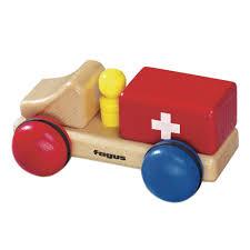 100 Fagus Trucks Amazoncom Wooden Mini Ambulance Toys Games