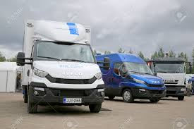 JAMSA, FINLAND - AUGUST 30, 2014: The New Iveco Daily Light Duty ...