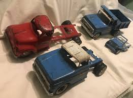 100 Vintage Tonka Truck VINTAGE TONKA TRUCKS And Jeep Lot Of 4 1950s60s 1050 PicClick