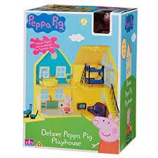 peppa pig la maison de peppa bâtiment et figurines 5cm import