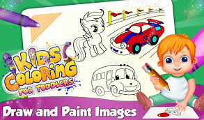 Kids Coloring For Toddlers Android Education App Source Code