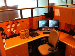 Halloween Cubicle Decoration Ideas by 20 Best Halloween Office Decor Images On Pinterest Halloween
