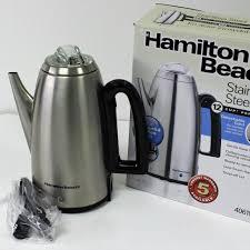 Hamilton Beach 12 Cup Percolator With Detachable CordRegPrice 6996