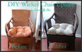 spray paint wicker furniture
