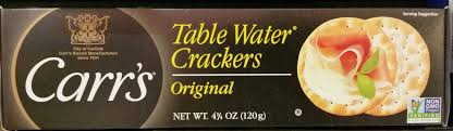 table carr cuisine table water crackers original carr s 120 g