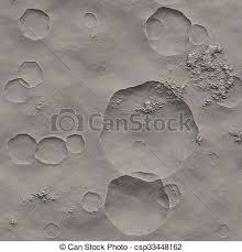 Moon Crater Texture Stock Illustration