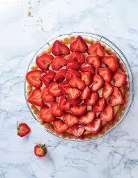 dessert aux fraises facile tarte aux fraises facile pour 6 personnes recettes à table